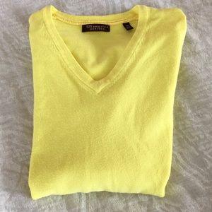 525 America Petits Yellow V Neck